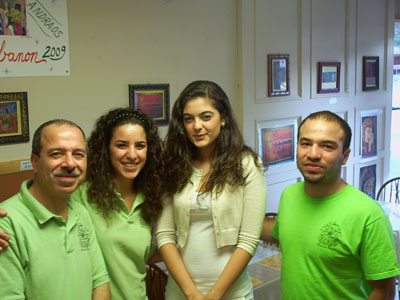 The Family with Miss Lebanon